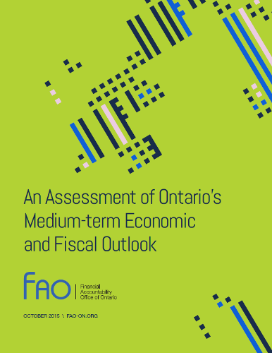 An Assessment of Ontario's Medium-term Economic and Fiscal Outlook
