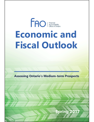 Economic and Fiscal Outlook Spring 2017