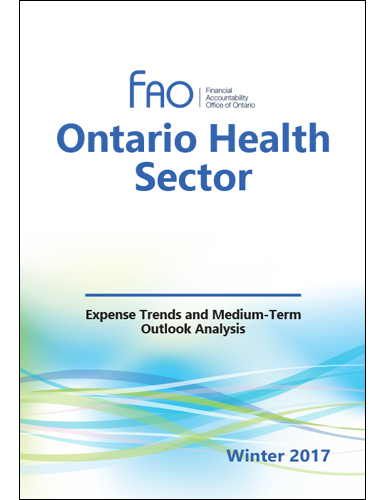 Ontario Health Sector: Expense Trends and Medium-Term Outlook Analysis