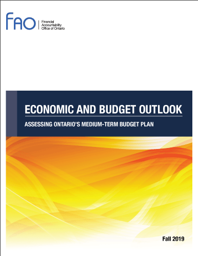 Economic and  Budget Outlook: Assessing Ontario's Medium-Term Budget Plan