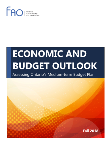 Economic and Budget Outlook, Fall 2018