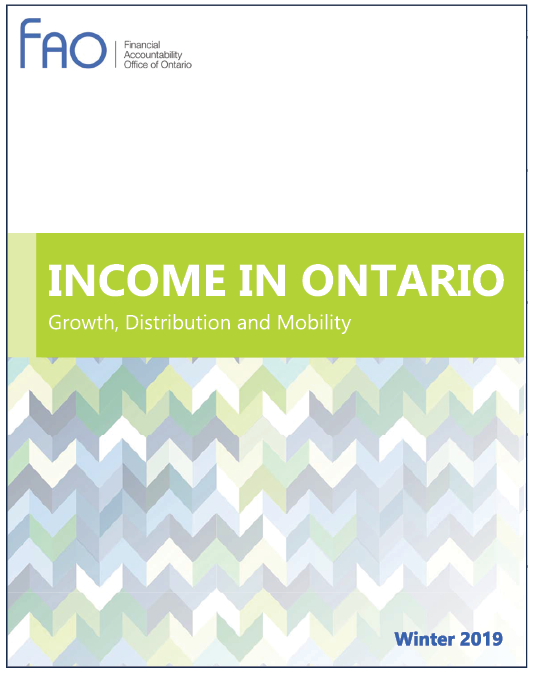 Income in Ontario cover image