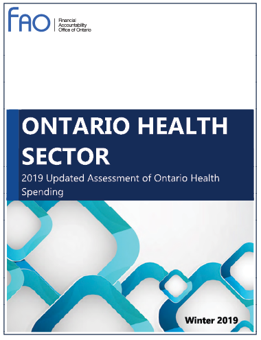 Ontario Health Sector cover image