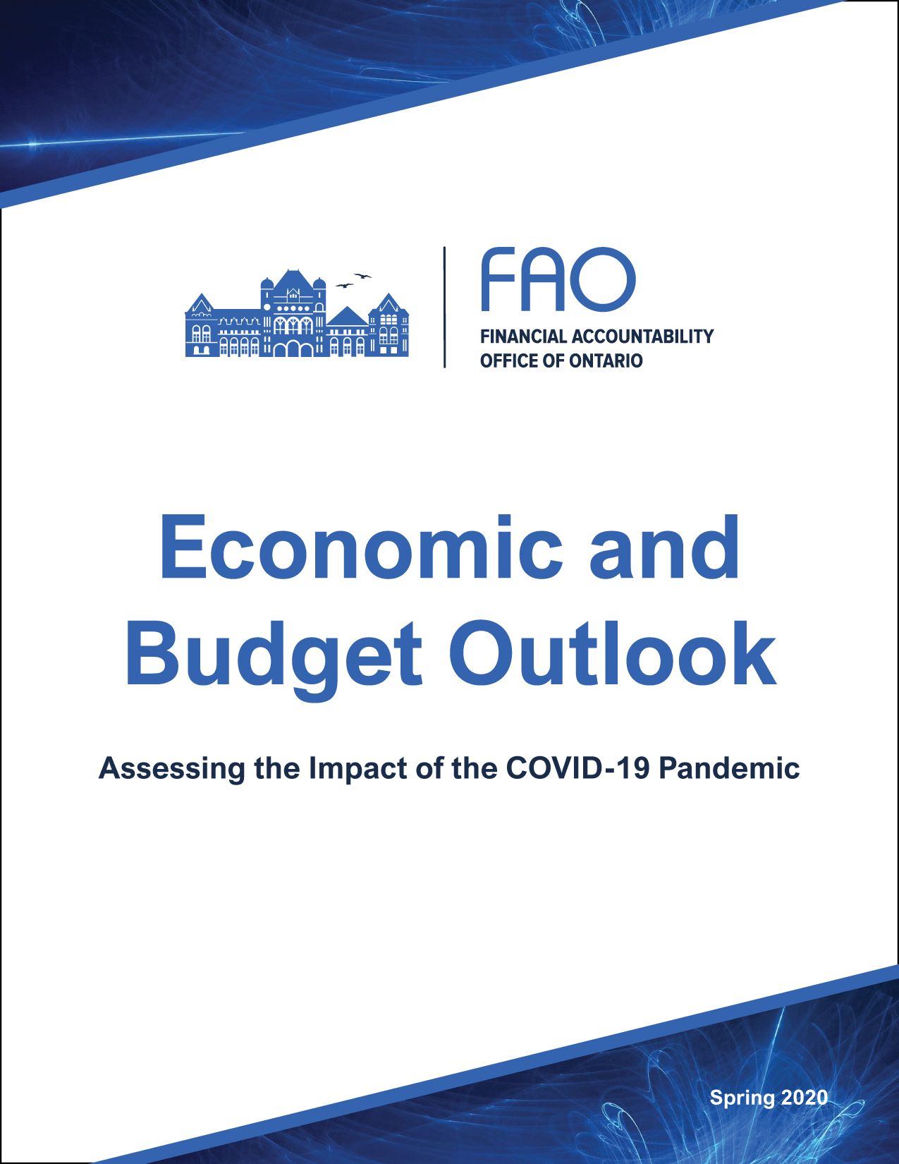 Economic and Budget Outlook, Spring 2020