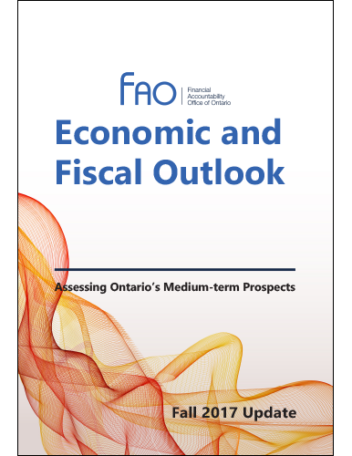 Economic and Fiscal Outlook, Fall 2017 Update